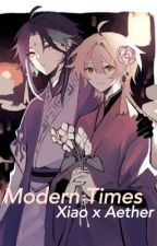 Modern times (Xiao x Aether) by SnoringS