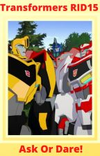 Transformers RID15 Ask Or Dare! by WhiteWolfNinja