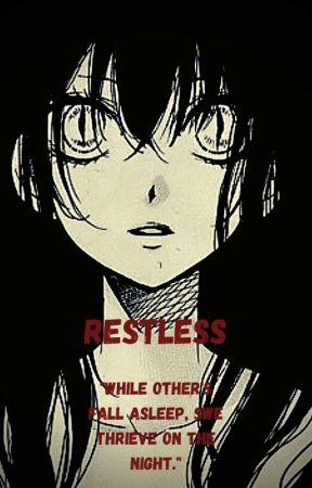 Restless. (Creeperfarts X Luna Lynn or PrivateFearless X Luna Lynn) by AnxietysSlave