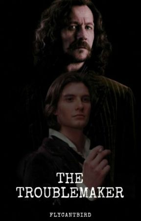 The Troublemaker~ Sirius Black by flycantbird