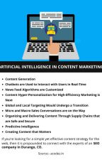 ARTIFICIAL INTELLIGENCE IN CONTENT MARKETING by josephdennyy01