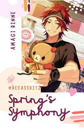 Spring's Shymphony {Amagi Rinne x Reader} by Resaseki12