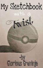 My Sketchbook with a Twist |✦·.•༻ by GloriousGreninja