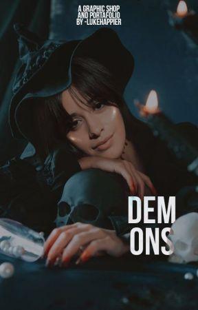 DEMONS ─── graphic portafolio. by OtrasBoludasMas