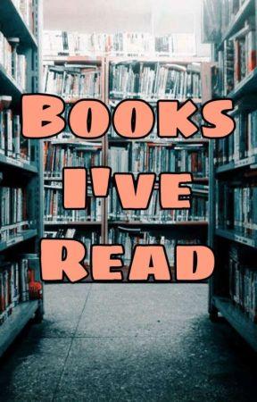 Books I've Read by avyanna005