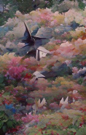 1,000 paper cranes.ʳᵃⁿᵇᵒᵒ ˣ ʳᵉᵃᵈᵉʳ by mellohiify