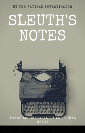 Sleuth's Notes by WPBureau