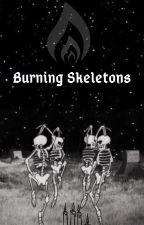 ✧༺༻∞ Burning Skeletons ∞༺༻✧ [2] by AllyMorte
