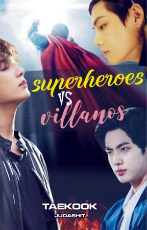 SUPERHEROES vs VILLANOS - Kooktae by judashit