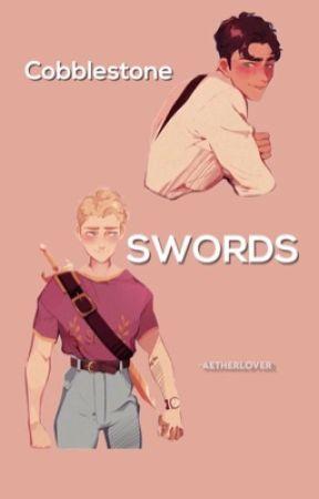 Cobblestone Swords by mcclanperalta
