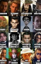 Johnny Depp Character Imagines  by zoomingatzoom