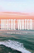 Where water meets horizon by _parisgirl19_