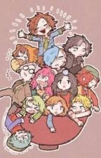 Yttd Roleplay books  by Sou_hiyori1235