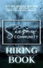 𝐒𝐞𝐞𝐒𝐚𝐰 𝐂𝐨𝐦𝐦𝐮𝐧𝐢𝐭𝐲 [Hiring] by SeeSawCommunity