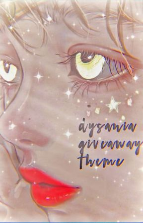 ⌗ ❏ ❜ | dysania giveaway theme  by woongieeeee