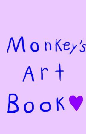 Monkey's Art Book by Monkeythefander