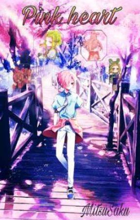 PINK  HEART                       『Sousuke Mitsuba』 by Sakura_Harem