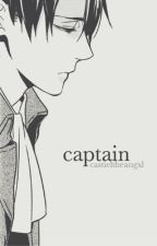 captain | levi x reader by castieltheangxl