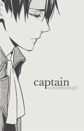 captain | levi x reader by castieltheangxl