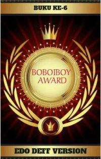 Boboiboy Award (Edo Deff Version) cover