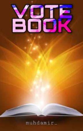 VOTE BOOK [CLOSE] by muhdamir_
