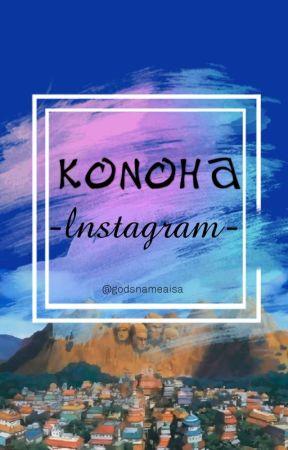 Konoha's lnstagram by godsnameaisa