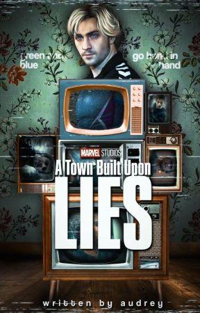 A Town Build Upon Lies . . WandaVision by milkbones-