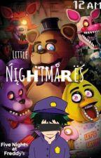 Little Nightmares  FNaFxBNHA  IzukuAfton by HomeworkIsHere