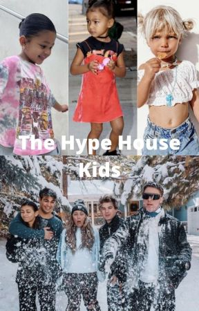The Hype House Kids  //Kouvr and Alex's kids along with Thomas and Mia's kids by therunawayryno
