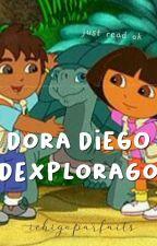 Dora Diego Dexplorago by ichigoparfaits