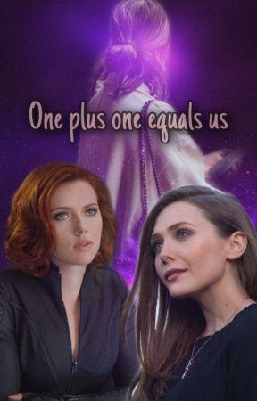 One plus one equals us (Natasha Romanoff x Wanda Maximoff x reader) by then0torioussimp