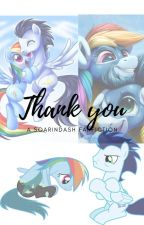 Thank you  [ A soarindash fanfic] by ---rainbowdash---