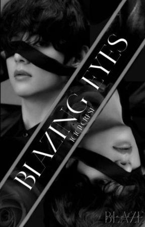 Blazing Eyes | Kim Taehyung by IcicleCrest