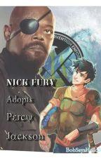 Nick Fury Adopts Percy Jackson by BobSaysHello34