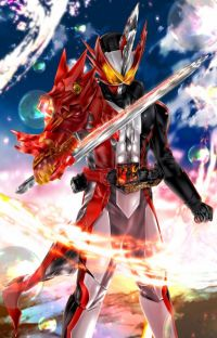 Kamen rider Saber x Animeverse - The Legends of Heroes and Books cover