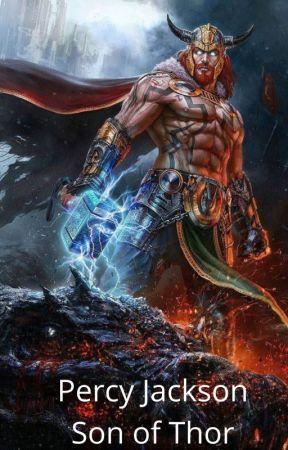Percy Jackson,Son of Thor by TysonSmashySmash