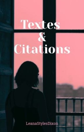 Textes&Citations by CharlieSDixon