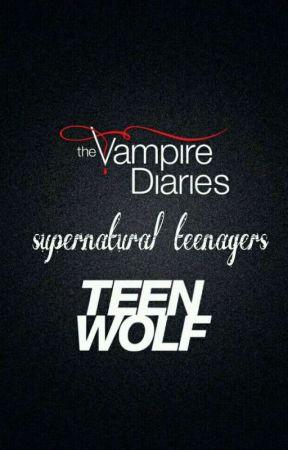 The Vampire Diaries - Teen Wolf by gatachic633