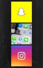 Social Media/Text Edits by justan0therr00kie