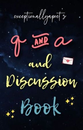 Q & A Book by exceptionallyapoet