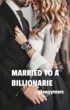 MARRIED TO A BILLIONAIRE  cover