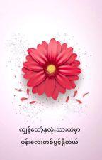 ကြၽန္ေတာ့္ႏွလံုးသားထဲမွာ ပန္းေလးတစ္ပြင့္႐ွိတယ္(completed) by MaungKaung6
