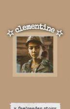 Clementine x Fem!Reader | TWDG by Happy_me16