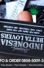 PRODUSEN 085850093543 Tempat Cetak Label Baju Sragen by cetaklabelbajublora