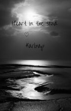 Heart in the sand ♡ karlnap by ItsElise__