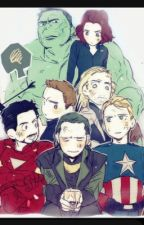 Avengers react by chloetheavocadogirl