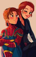 Peter Parker, Mama spider and Irondad one-shots by Blackwidxw_Avengers