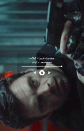 HOPE ¬ Bucky Barnes by psylockeeeeeeee