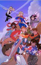 Marvel rising Spider-Man (oc x Gwen) Remake by JameelJames4