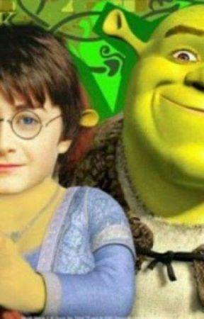 Shrek x harry potter by 1Stinkysock